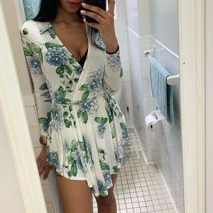 Floral Romper/Skirt
